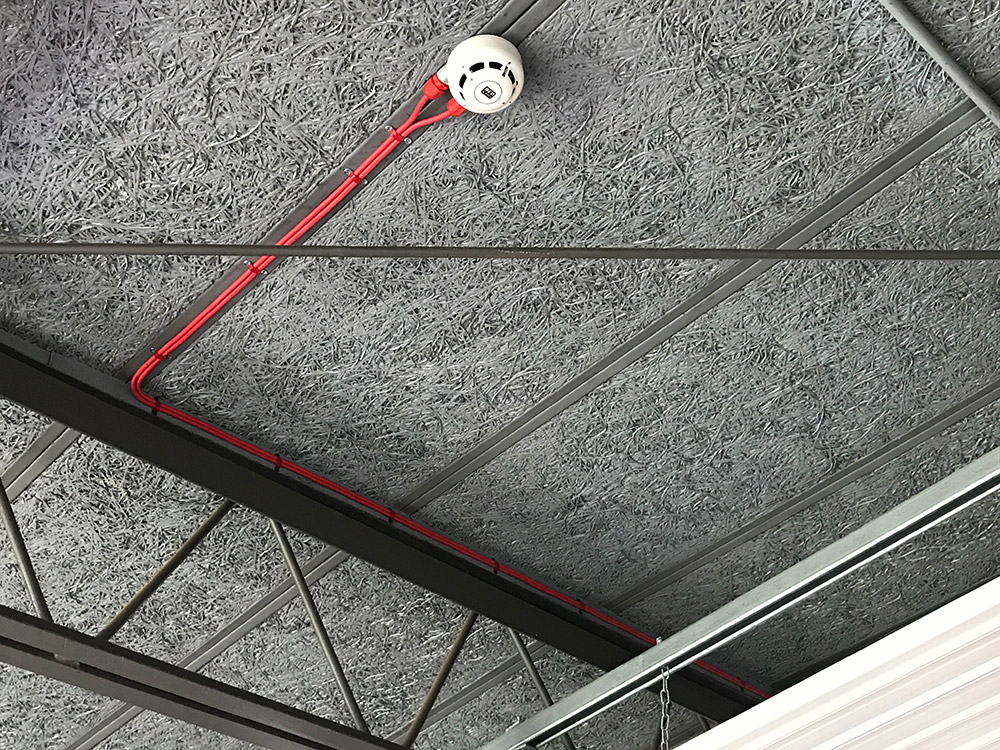 Meko Electrical Services Dean Academy Fire Detection System Installation Image 11