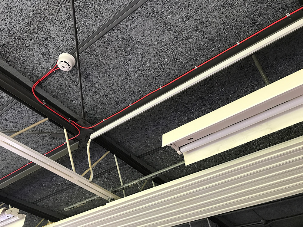 Meko Electrical Services Dean Academy Fire Detection System Installation Image 13