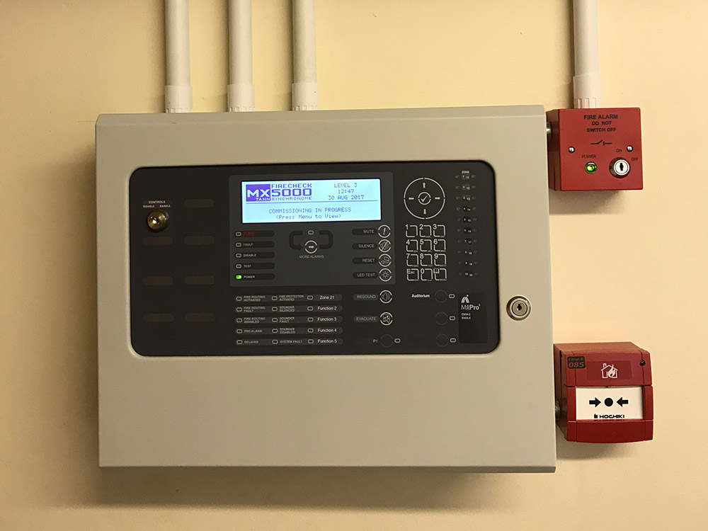 Meko Electrical Services Dean Academy Fire Detection System Installation Image 8