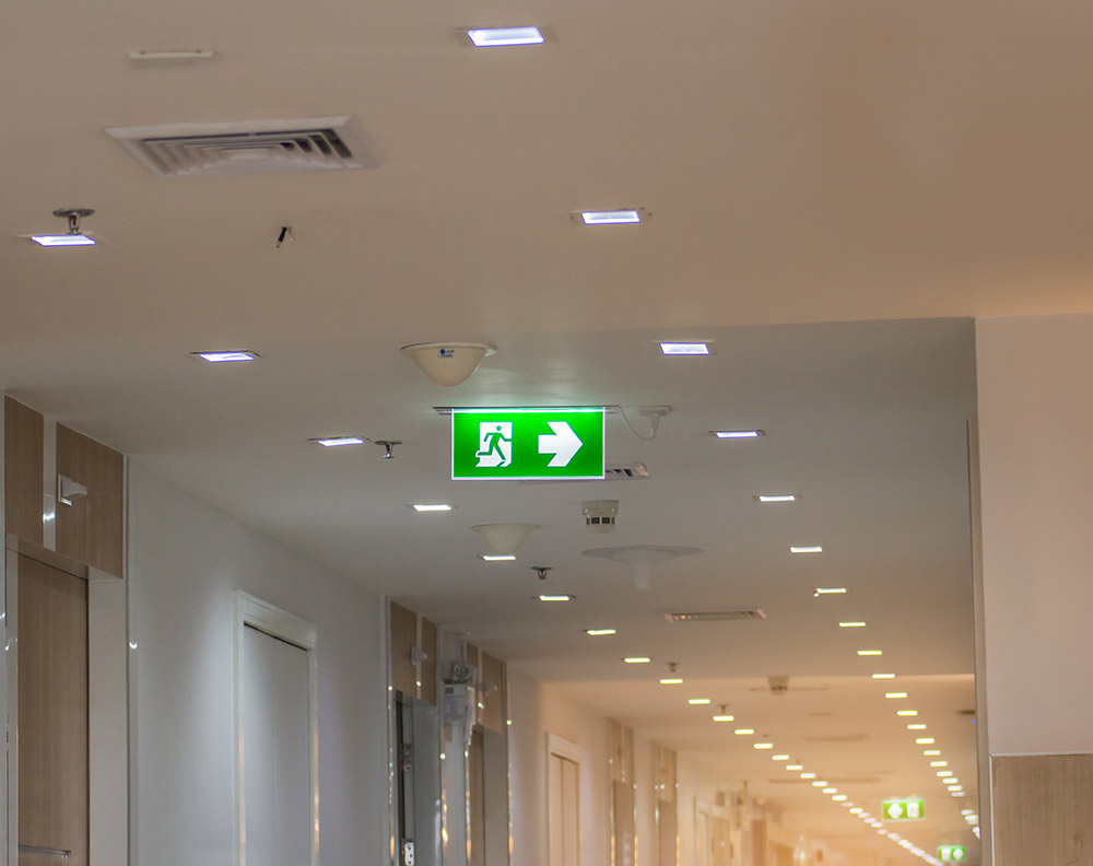 meko electrical stroud commercial and Industrial emergency lighting