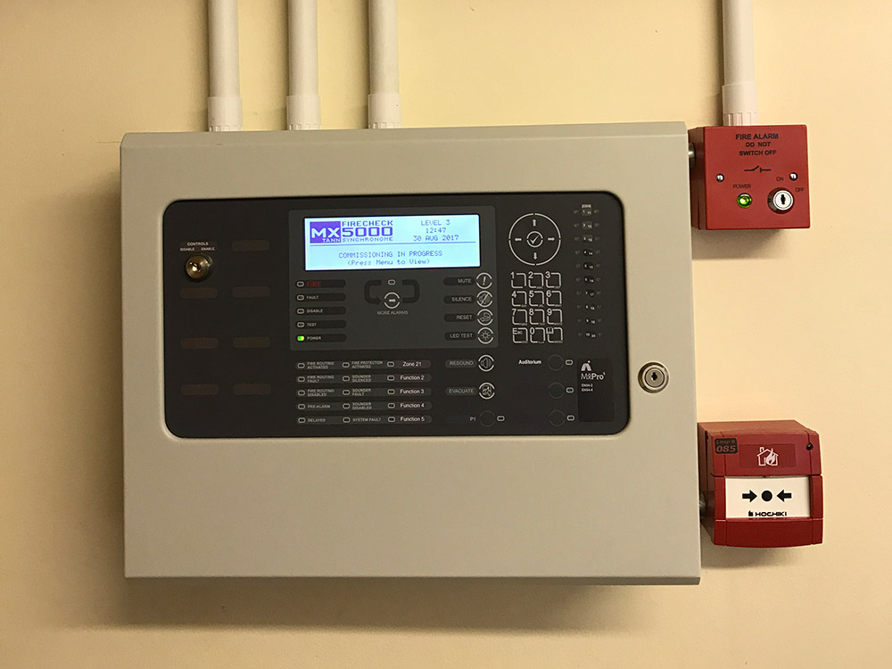 meko electrical stroud commercial and Industrial fire detection image