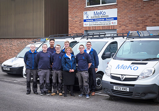 meko electrical stroud the team